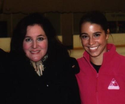 Julianne and Alissa, November 2008